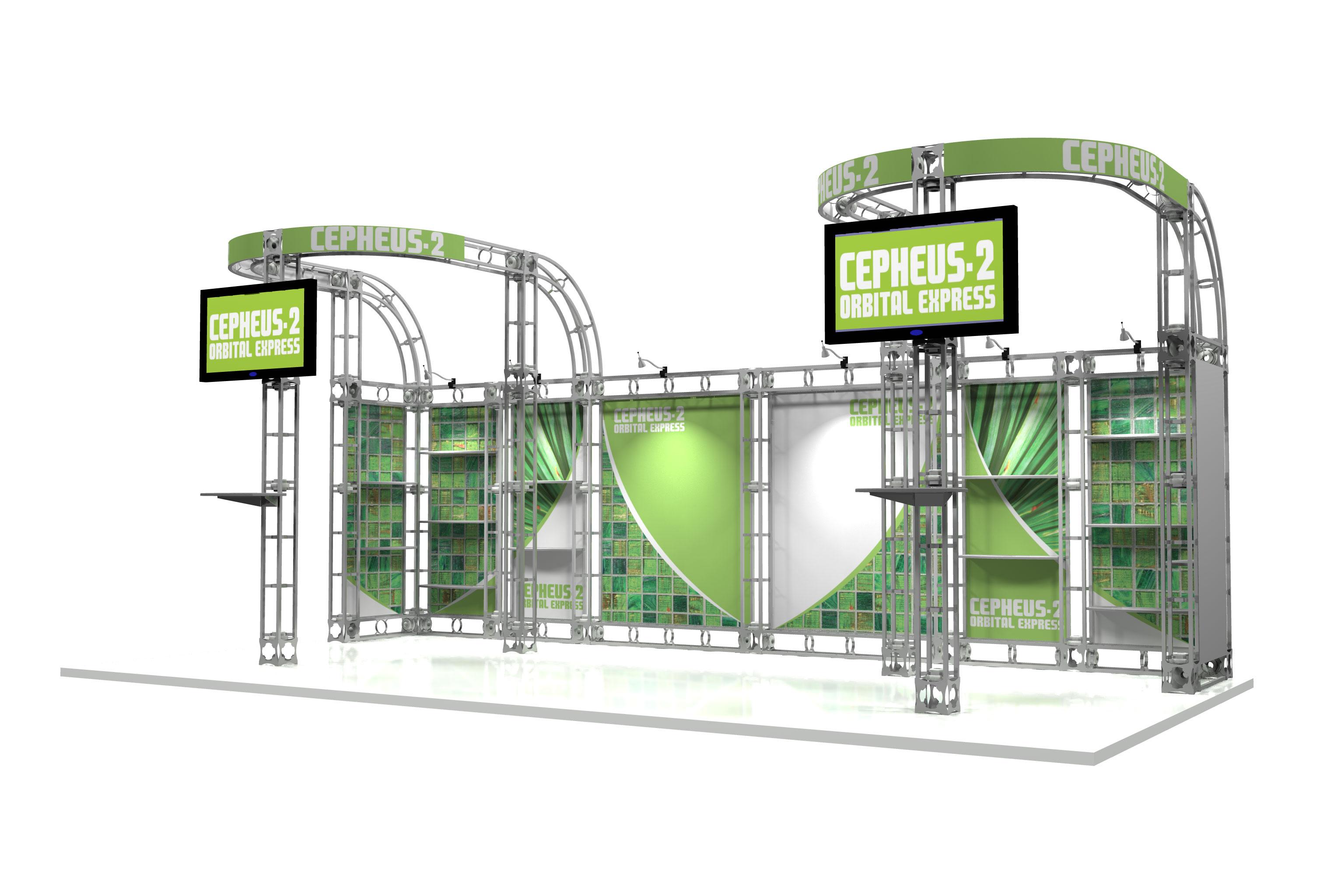 truss trade show displays