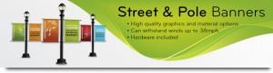 Quality Street & Pole Banners