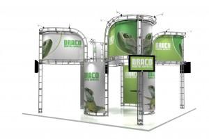 truss_draco Exhibit Display Booth