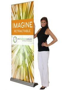Imagine Retractable Banner Stands