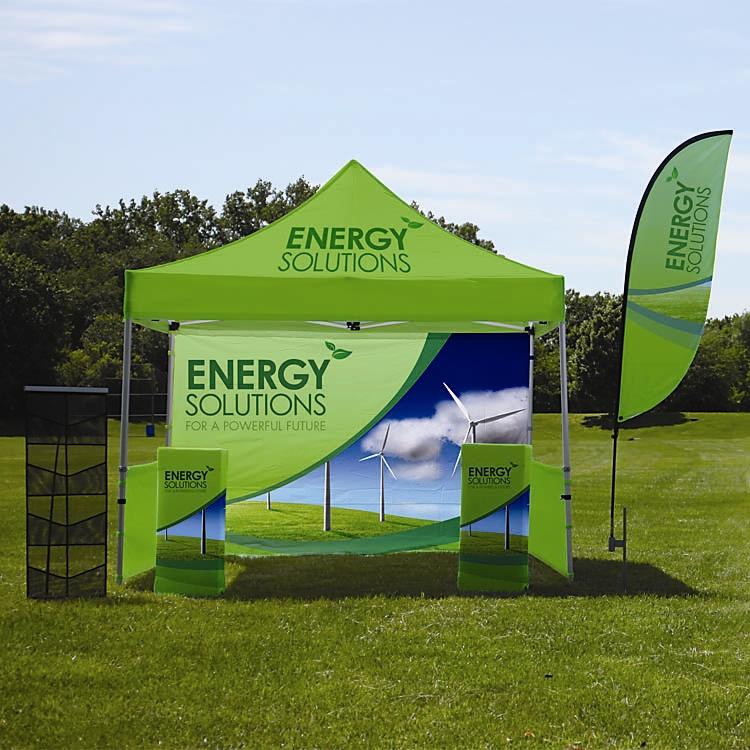 Outdoor Pop Up Tent 10x10 Kit Displays