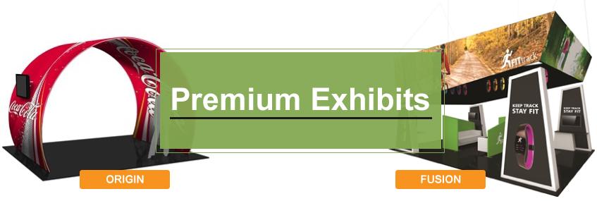 premium trade show displays