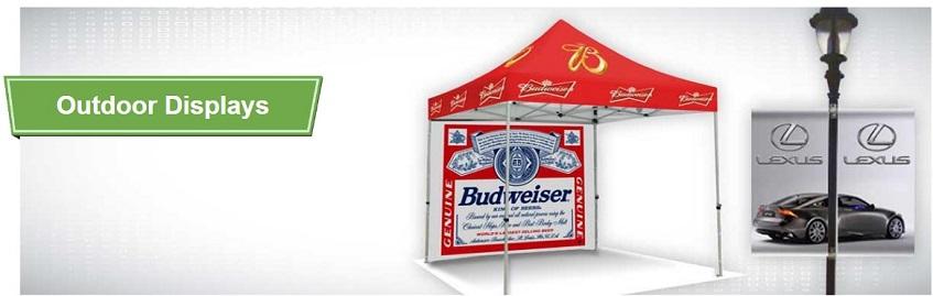 outdoor trade show displays