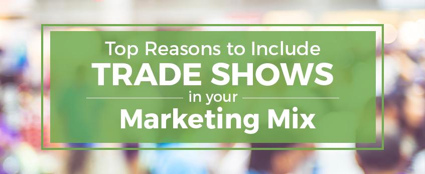 trade show marketing mix