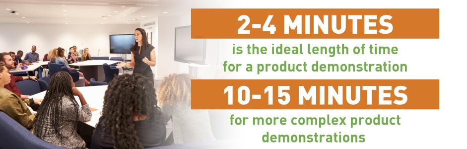 product demo length statistics