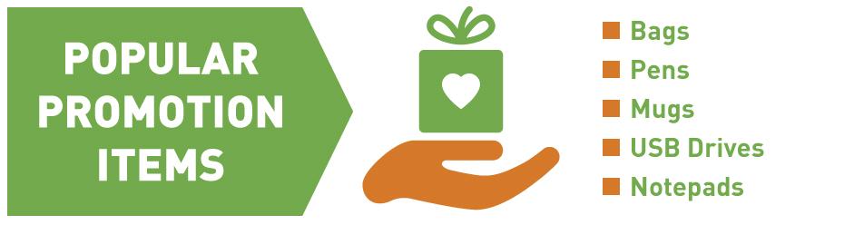 popular promotion giveaways list