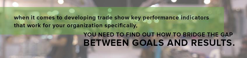 trade show key performance indicators