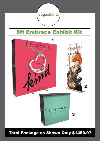 8ft Embrace Exhibit Kit