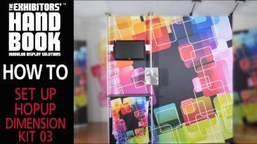 Hopup Dimension Kit 03 Setup Tutorial – APG Exhibits