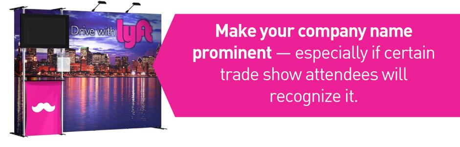 trade show branding