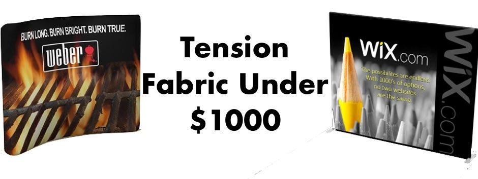 Tradeshow Displays Under $1000