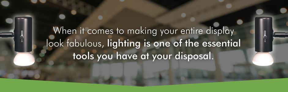 trade show lighting