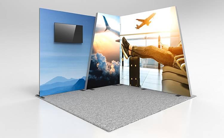 Vector Lightbox Media Backlit Modular Display