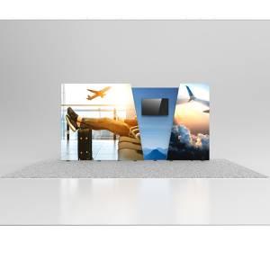 20' Vector Lightbox Media Backliy Display