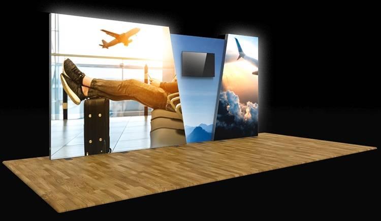 Vector Backlit Media Display