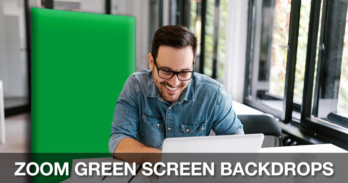 Zoom Green Screen Backdrops