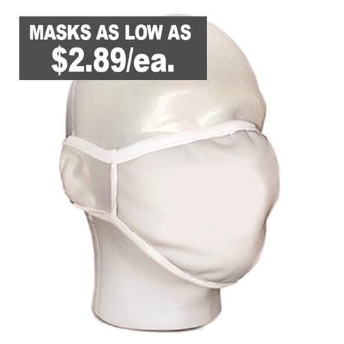 Non-branded face masks