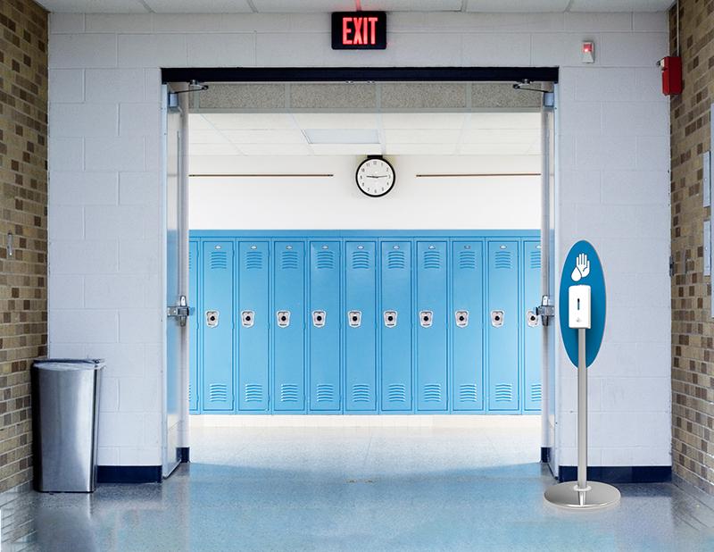 hand sanitizer for schools
