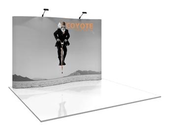 Coyote 10' Serpentine Pop Up Display