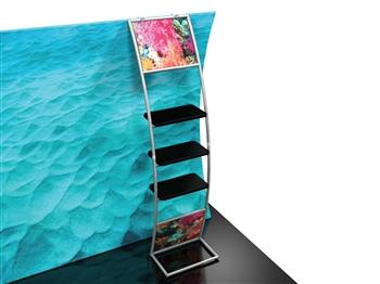 Trade Show Displays: Formulate Add-Ons - Multi-Shelf Ladder
