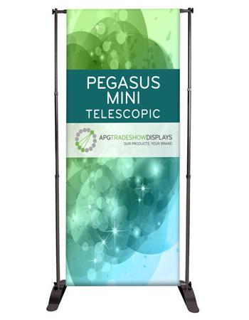 Pegasus Mini Telescopic Banner Stands
